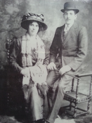 Percival and wife Florence